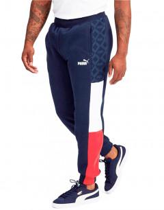 PUMA Logo AOP Pack Pants Navy