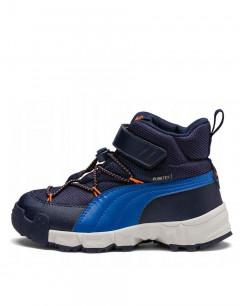 PUMA Maka Puretex V Jr Boots Navy