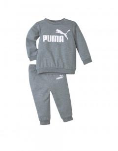 PUMA Minicats Ess Crew Jogger Grey