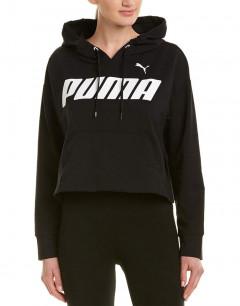 PUMA Modern Sports Cotton Hoodie Black