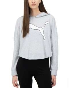 PUMA Modern Sports Cover Up Sweatshirt Grey