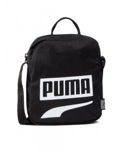 PUMA Plus Portable II Logo Bag Black