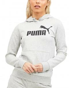 PUMA Puma Ess Logo Hoodie W Grey
