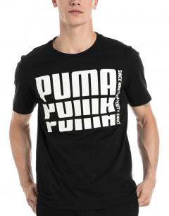 PUMA Rebel Bold Basic Tee Black