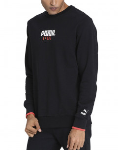 PUMA Sport Crew Sweatshirt Black