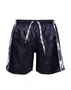 PUMA Stripe Shorts Black