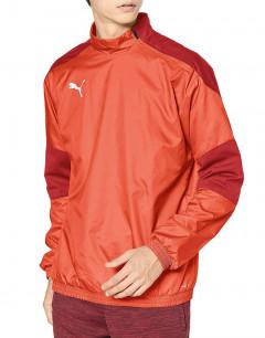 PUMA TeamFinal 21 Tricot Linen Jacket Red