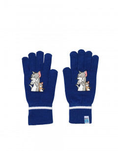 PUMA Tom&Jerry Active Knit Gloves Navy