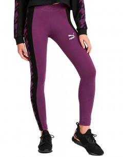 PUMA Trend Aop Leggings Purple
