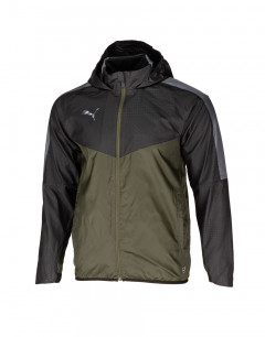 PUMA Woven Lined Jacket Olive/Blk