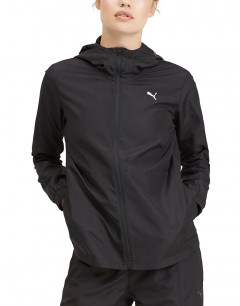 PUMA Woven Warm Up Jacket  Black