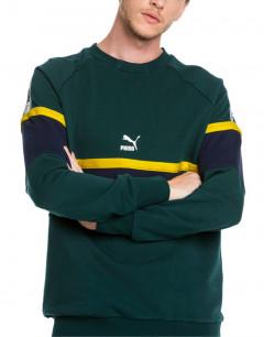 PUMA XTG Crew Ponderosa Pine Sweater Green