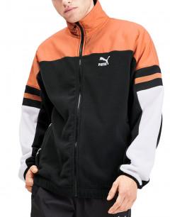 PUMA XTG Woven Jacket Black/Orange