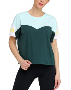 PUMA Xtg Colorblock Tee Green