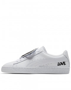PUMA Basket Badge White