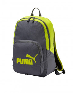 PUMA Phase Backpack Grey/Lime