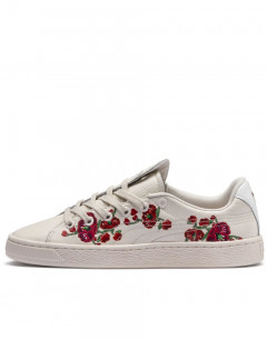 PUMA X Sue Tsai Basket Cherry Bombs White