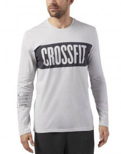 REEBOK CrossFit Stripe Long Sleeve Tee