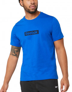REEBOK  Essentials Linear Logo Tee Humble Blue