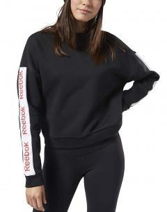 REEBOK Linear Sweatshirt Black
