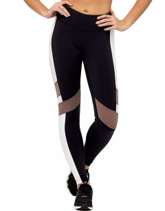 REEBOK Lux Color Block Legging Black