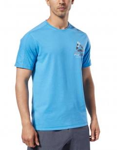REEBOK One Series Training Speedwick Tee Blue