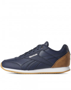 REEBOK Royal Classic Jog 2 Navy & Brown