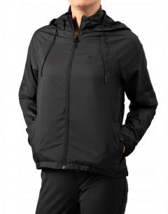REEBOK Windbreaker Jacket  Black