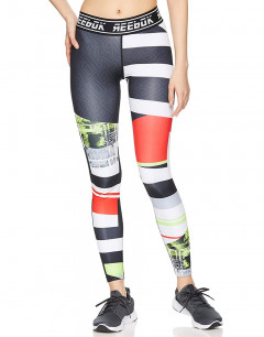 REEBOK Wor Meet You There Engineered Tights