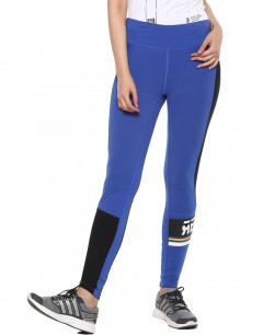 REEBOK Wor Myt Grph Panel Tights Blue