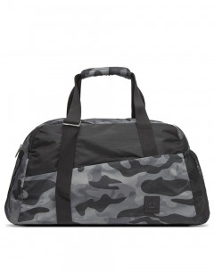 REEBOK Graphic Grip Duffle Bag Grey