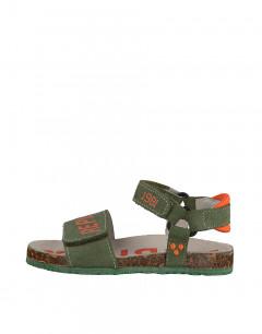 REPLAY Hurricane Sandals Junior Olive