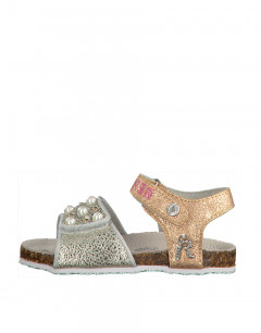 REPLAY Syn Sandals Junior Silver