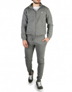 SERGIO TACCHINI Iconic Cuff Tracksuit Grey Melange