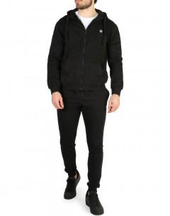 SERGIO TACCHINI Iconic FZ Cuff Tracksuit  Black