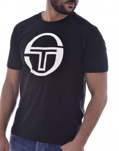 SERGIO TACCHINI Stadium Big Logo Tee Black