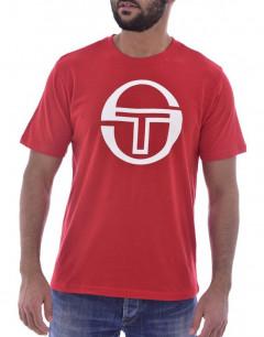 SERGIO TACCHINI Stadium Big Logo Tee Red