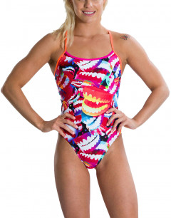 SPEEDO Flipturns Single Crossback Swimsuit