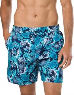 SPEEDO Vintage Paradise 16-inch Water Shorts Navy/Aqua