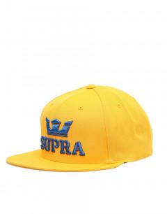 SUPRA Above II Snapback Hat Caution/Ocean