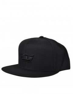 SUPRA Icon Snapback Hat All Black