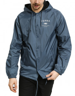 SUPRA Trademark HD Coach Jacket Navy
