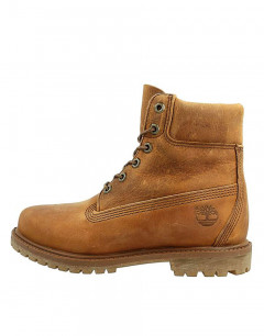 TIMBERLAND 6 Inch Premium Lace Up Rugged Leather Brown