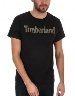 TIMBERLAND Logo Seasonal Tee Camo