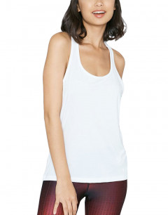 UNDER ARMOUR Break of Dawn Racer Tank White