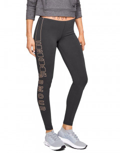 UNDER ARMOUR Favorite Graphic Leggings Anthra