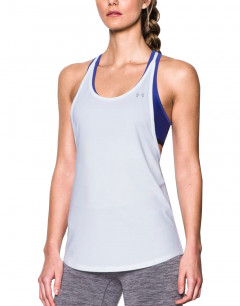UNDER ARMOUR HeatGear Armour 2-In-1 Tank White