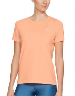 UNDER ARMOUR HeatGear Logo Tee Orange