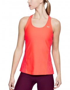 UNDER ARMOUR Heatgear Armour Fashion Tank Orange