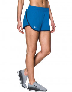UNDER ARMOUR Launch Tulip Shorts Blue